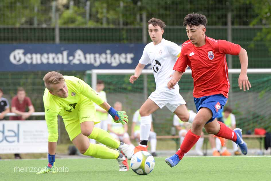 DSC_2089 Kreispokal 2019 B- Junioren Bonner SC - FC Pech