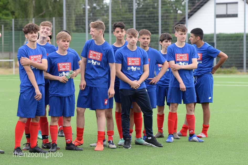 DSC_2158 Kreispokal 2019 B- Junioren Bonner SC - FC Pech