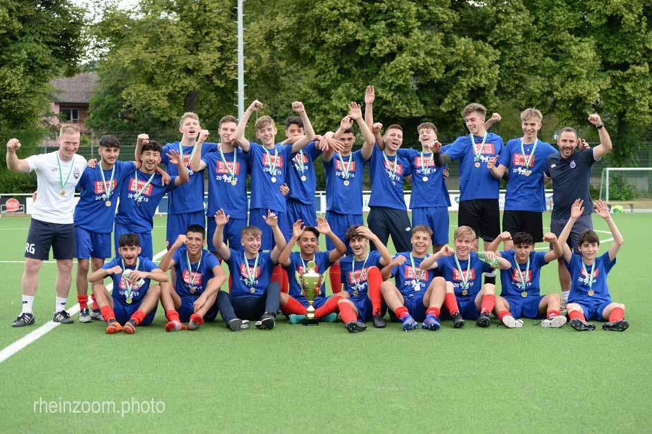 DSC_2177 Kreispokal 2019 B- Junioren Bonner SC - FC Pech