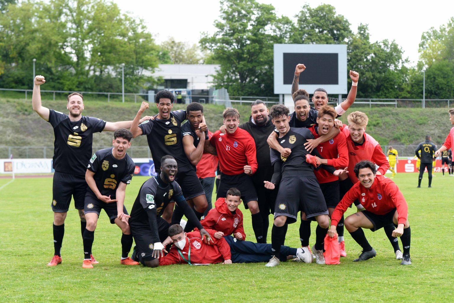 DSC_0673 BSC Mannschaft nach dem 2-1 Sieg